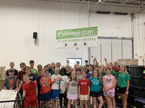 Edina Parks & Recreation Packing Event 07/30/19