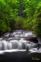 Upstream of Secret Falls (Reid Northrup) Tags: rrs nature cascade forest highlands longexposure nikon northcarolina reidnorthrup rocks scenic secretfalls trees waterfall