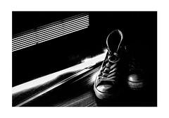ready to walk (Armin Fuchs) Tags: arminfuchs lavillelaplusdangereuse chucks light shadows diagonal stripes shoes