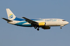 N811TJ | Boeing 737-306(BDSF) | Swift Air (cv880m) Tags: newyork jfk kjfk kennedy johnfkennedy aviation airliner airline aircraft airplane jetliner airport spotting planespotting n811tj boeing 737 733 737300 73f 737300f bdsf 737306 swiftair swift cargo aircargo freight freighter airfreight
