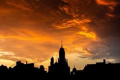 Silhouette skyline. (Darren Speak) Tags: york