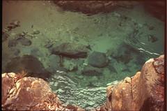 (✞bens▲n) Tags: leica m4 astia 100f rokkor 40mm f2 film analogue slide positive japan nagano kiso aterakeikoku water river nature