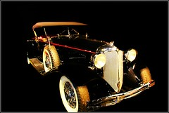 1928 Mercedes-Benz (janetfo747 ~ Dreaming of Africa) Tags: 1928 mercedesbenz aljolson classic vintageblackhawkmuseum california library historic vintage hot cool hotrod black ganster