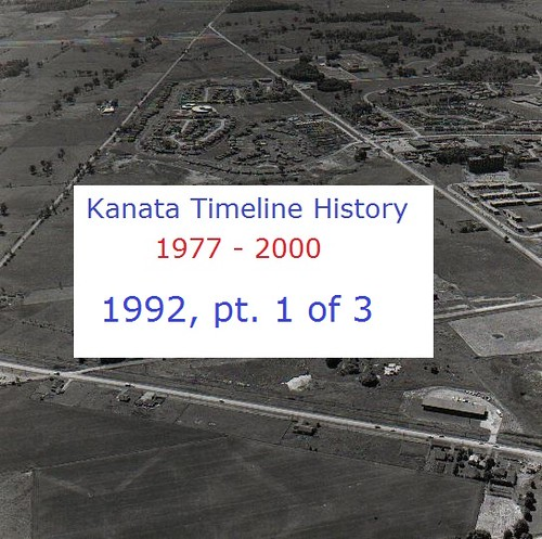 Kanata Timeline History 1992 (part 1 of 3)