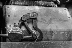 Slide this Bolt (sibnet2000) Tags: palouse wheat patahaflourmill pataha patahamill blackandwhite museum pomeroy pomeroywa