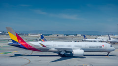 HL7578 (gankp) Tags: sanfranciscosfo sfo hl7578 airbus a350941 asianaairlines seoul icn