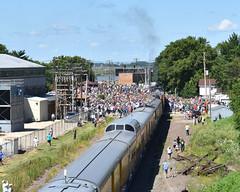 That's A Lot of People (R.G. Five) Tags: rochelle il geneva sub up union pacific train railroad steam 4014 big boy locomotive