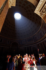 """In the Spotlight"" [Tourists at The Pantheon in Rome, Italy] (The Way I See Things - dvtwist.com) Tags: inthespotlight people building architecture architectural structure pantheon attraction monument landmark temple ancientrome roma roman rotunda dome skylight sunbeam sunlight spotlight beam ceiling woman female women girl human humans person man male men boy vacation travel holiday historic historical history nostalgia nostalgic old ancient antiquated color colors colorful vibrant sightseeing tourism rome italy italian europe mediterranean european 8x12"