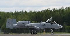 Fairchild Republic A-10 Thunderbolt II (Warthog)   2019 Duluth Mn (DLH) Airshow (air one delta) Tags: a10 warthog af79122