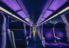 Traveling through the night (Norbert Clausen) Tags: train zug nacht