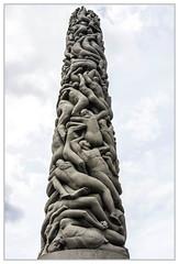 Monolith (Werner Ba) Tags: oslo vigeland monolith kunst park kultur details steinkunst säule