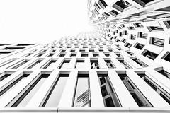 Infinity (Leipzig_trifft_Wien) Tags: berlin deutschland monochrome white bright urban lookup architecture city building tower