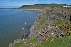 Gower West View (Gerry Rudman) Tags: cliffs rossili bay gower southwest wales
