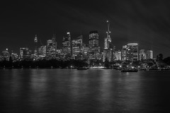monochrome sydney (Greg M Rohan) Tags: nikon d750 nikkor 2019 longexposure nightphotography blackandwhite bw building water monochrome skyline architecture night skyscraper buildings cityscape nightlights skyscrapers sydney australia nighttime sydneycity noiretblanc シドニー 悉尼 モノクローム 黑與白 單色 schwarzundweis 黒と白