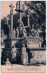 Guéhenno - Le Calvaire (pepandtim) Tags: postcard old early nostalgia nostalgic brittany bretagne guéhenno calvaire calvary carte postale laurent nel rennes morbihan 1550 1994 vannes granite guillonic jacquot 1853 1863 ossuary pedestal altar column
