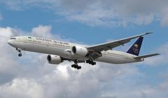 HZ-AK39 EGLL 18-07-2019 Saudi Arabian Airlines Boeing 777-3FGER CN 61592 (Burmarrad (Mark) Camenzuli Thank you for the 19.8) Tags: hzak39 egll 18072019 saudi arabian airlines boeing 7773fger cn 61592