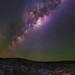 Milky Way at Z Bend in Kalbarri National Park, Western Australia