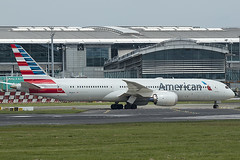 N838AA | American Airlines | BoeingB787-9 Dreamliner  40659 | Built 2018 | DUB/EIDW 04/07/2019 (Mick Planespotter) Tags: aircraft airport aa 2019 dublinairport collinstown spotter sharpenerpro3 nik plane planespotter airplane aeroplane b787 b789 n838aa american airlines boeing b7879 dreamliner 40659 2018 dub eidw 04072019