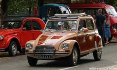 Citroën Dyane (XBXG) Tags: 9944xx42 citroën dyane citroëndyane célébrationcentenairedecitroën célébration centenaire 2019 lafertévidame 28 eureetloire eure et loire france frankrijk vintage old classic french car auto automobile voiture ancienne française vehicle outdoor