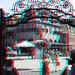 Roode Steen door hek Westfriesmuseum Hoorn 3D