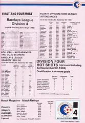 Stockport County vs Hartlepool United - 1989 - Page 31 (The Sky Strikers) Tags: stockport county hartlepool united the friendly football club edgeley park barclays league division four official matchday magazine 80p