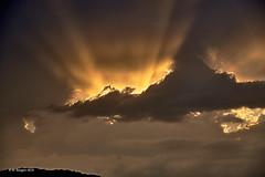 Clouds (markbangert) Tags: cloud clouds water vapour sun sunlight sunrays sky nikon d850 fx