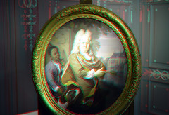 Westfriesmuseum Hoorn 3D (wim hoppenbrouwers) Tags: westfriesmuseum hoorn 3d anaglyph stereo redcyan