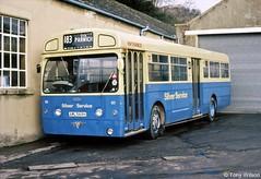 AML569H VLW569G Silver Service 65 (theroumynante) Tags: aml569h vlw569g silver service 65 aec merlin metrocammell weymann mcw darley dale bus buses singledeck dualdoor road transport london mbs569 lte wooliscroft son