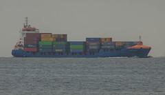 Container ship York Ruler in Öresund (frankmh) Tags: ship cargoship containership yorkruler öresund