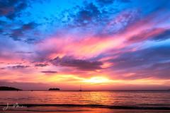 Sunset Playa Hermosa (Wits End Photography) Tags: sand color sunset seashore water evening sea clouds coastline beach ocean coastal dusk shore twilight nautical sky maritime costarica colorful marine seaside cloudy colors multicolored