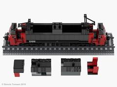 DSB Litra EA (dennis.tomsen) Tags: lego train locomotive railroad danish dsb ea moc render studio partdesigner ldd electric litra interior henschelsohn scandia legodigitaldesigner