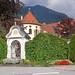 Kloster Ettal (48) - Antonius-Standbild an der Klostermauer (Ortsmitte)
