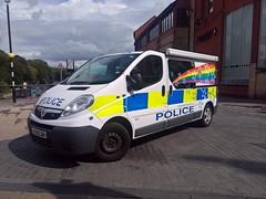 Durham Constabulary Vauxhall Vivaro 2900 ..Here seen in Durham on July 21st 2019 (carsbusestrainsandtrucks) Tags: durham constabulary police 999 van emergency services