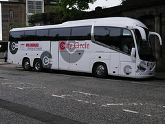 City Circle of Newbridge Scania K410EB6 Irizar i6s YT19EFL 104 at Waterloo Place, Edinburgh, on 25 June 2019. (Robin Dickson 1) Tags: edinburghbuses citylink scaniak410eb6 irizari6s yt19efl globustours