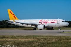 Pegasus Airlines TC-NBE (U. Heinze) Tags: aircraft airlines airways airplane planespotting plane flugzeug haj hannoverlangenhagenairporthaj nikon d610 nikon28300mm eddv