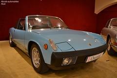 Porsche 914 1973 (Monde-Auto Passion Photos) Tags: voiture vehicule auto automobile porsche 914 cabriolet convertible roadster spider sportive bleu blue ancienne classique rare rareté collection vente enchère osenat france fontainebleau