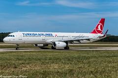 Turkish Airlines TC-JSF (U. Heinze) Tags: aircraft airlines airways airplane planespotting plane flugzeug nikon d610 nikon28300mm haj hannoverlangenhagenairporthaj eddv