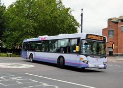 65020 YN54NZU (PD3.) Tags: bus buses hampshire hants england uk portsmouth solent first group fhd firstbus scania omnicity 65020 yn54nzu yn54 nzu