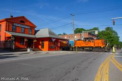 ARA 113 @ Arcade, NY (Michael Polk) Tags: arcade attica railroad ara 113 112 ge general electric 80 tonner 65 new york freight train center cab switcher