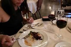#Dinner at the #majesticHotel originally called the #Ahwahnee in #yosemiteValley (Σταύρος) Tags: dinner yosemitevalley majestichotel ahwahnee ahwahneehotel theahwahnee myfriend bff asiangirl asianwomen asianfriend asianwoman wineglass redwine cabernet halffull glassofwine fork yummy foodie yosemite nationalpark bigmouth yosemitenationalpark sierranevada california northerncalifornia cali norcal kalifornia kalifornien californie 加州 カリフォルニア californië カリフォルニア州 주 калифорния كاليفورنيا 캘리포니아 καλιφόρνια แคลิฟอร์เนีย themajesticyosemitehotel