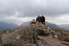 We Made The Second One (steve_whitmarsh) Tags: aberdeenshire scotland scottishhighlands highlands landscape mountain hills summit rock rocks topic