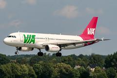 LZ-MDA (PlanePixNase) Tags: hannover aircraft airport planespotting haj eddv langenhagen airvia airbus 320 a320