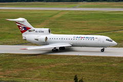 RA-42389 (PlanePixNase) Tags: hannover aircraft airport planespotting haj eddv langenhagen saratov saravia yak 42 yakovlev яковлев як42 yk42