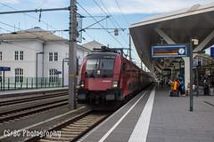 1116 152, Salzburg Hbf (CS:BG Photography) Tags: salzburg öbb österreichischebundesbahnen railjet salzburghbf rh1116 class1116 taurus eurosprinter 1116152 es64u2 altewestbahn