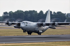 Lockheed C-130K Hercules - 02 (NickJ 1972) Tags: royalinternationalairtattoo riat raf fairford airshow 2018 aviation lockheed c130 hercules 8tca