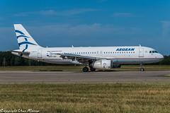 Aegean Airlines SX-DGC (U. Heinze) Tags: aircraft airlines airways airplane flugzeug planespotting plane nikon d610 nikon28300mm haj hannoverlangenhagenairporthaj eddv
