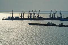 Sea port of Berdyansk. (denkuznets81) Tags: sea port seascape ship sun azov berdyansk море порт корабль азовскоеморе бердянск