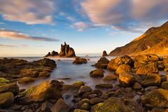 Golden Benijo (Daniel.Peter) Tags: benijobeach canaryislands kanarischeinseln spain spanien tenerife teneriffa beach dpe3x