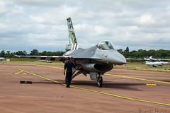 F-16AM Fighting Falcon FA-57 - 350 Squadron Florennes Air Base (stu norris) Tags: f16amfightingfalconfa57 350squadron florennesairbase f16amfightingfalcon f16 f16afightingfalcon royalinternationalairtattoo2019 raffairford royalinternationalairtattoo riat riat2019 lockheedmartin generaldynamics belgianairforce ffd egva airshow aviation aircraft airplane jet