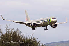 B767-323ER(F) N354AA (N397AZ) CARGO AIRCRAFT MANAGEMENT (shanairpic) Tags: jetairliner cargo freighter b767 boeing767 shannon american cargoaircraftmanagement ati amazonprimeair n354aa n397az